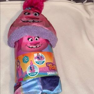 Girls Trolls Snuggle wrap 💕